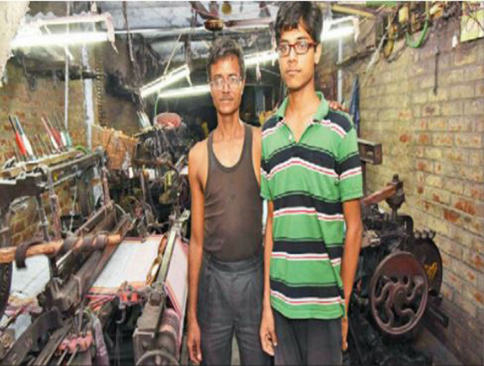 Kedar Nath with father