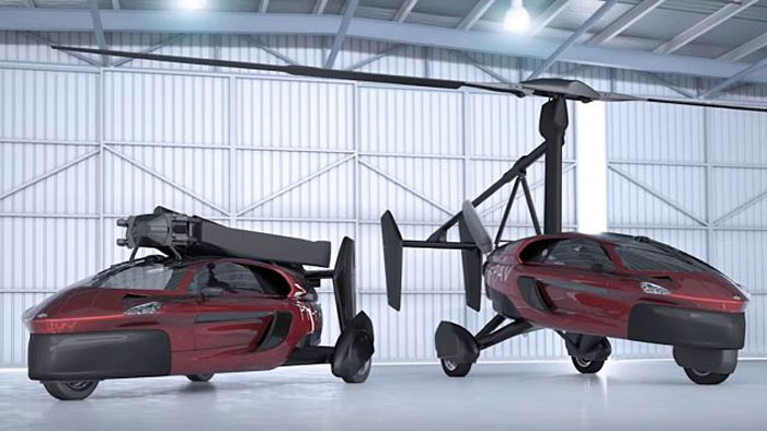 Dutch Firm Flying Car