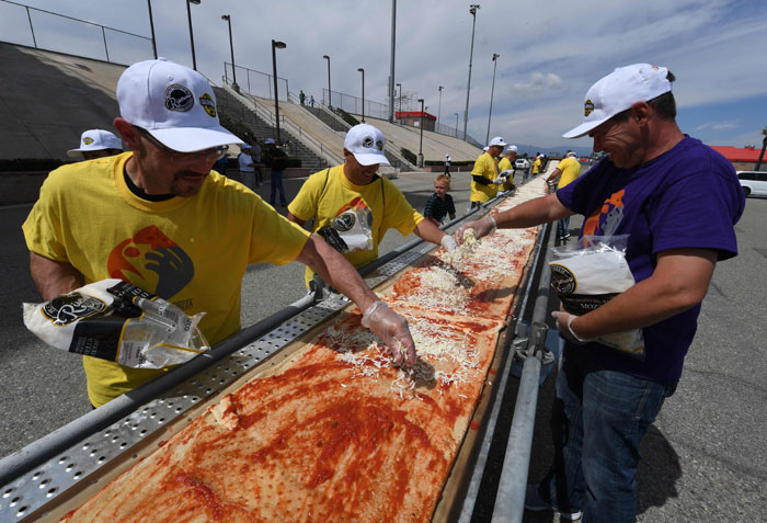 Pizza Guinness World Record