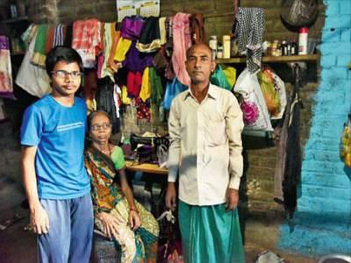 Ranjit Kumar with family