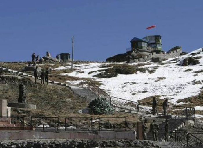 Chinese troops entered Doklam area in attempt to construct road