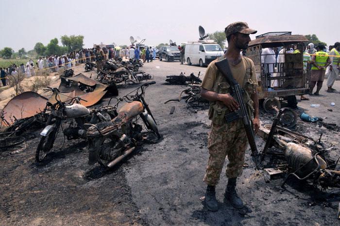 Pakistan Oil Tanker Explodes