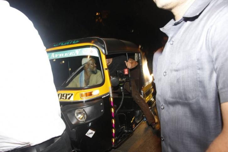 Salman Khan auto-rickshaw