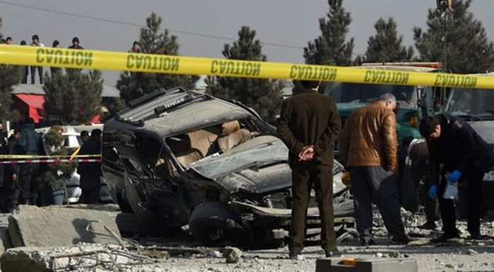 afghanistan car bomb blast
