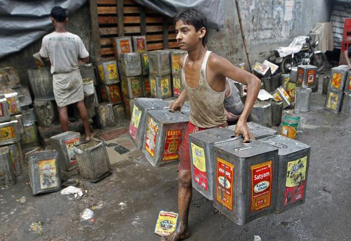 Hyderabad Child Workers