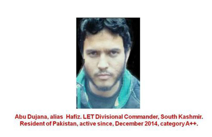 Most Wanted Terrorists Kashmir Valley
