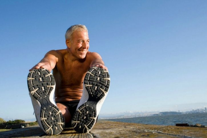 Although, we haven't been able to discover one that can turn a middle-aged individual into a 20-year-old, science has shown that exercise is the time-tested answer to turning the clock back