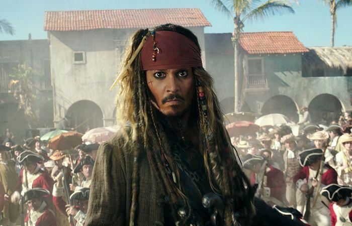 Johnny Deep as Jack Sparrow