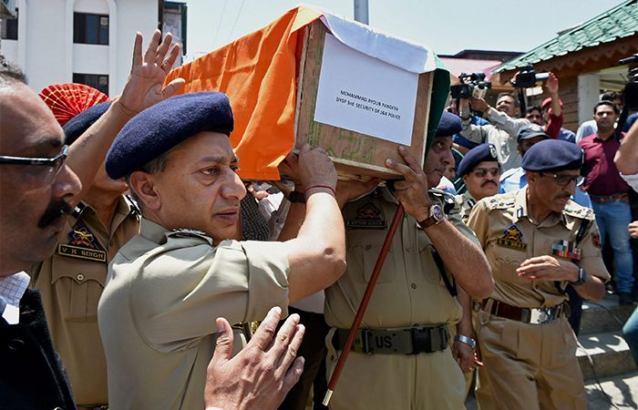Funeral of Mohammad Ayub Pandith
