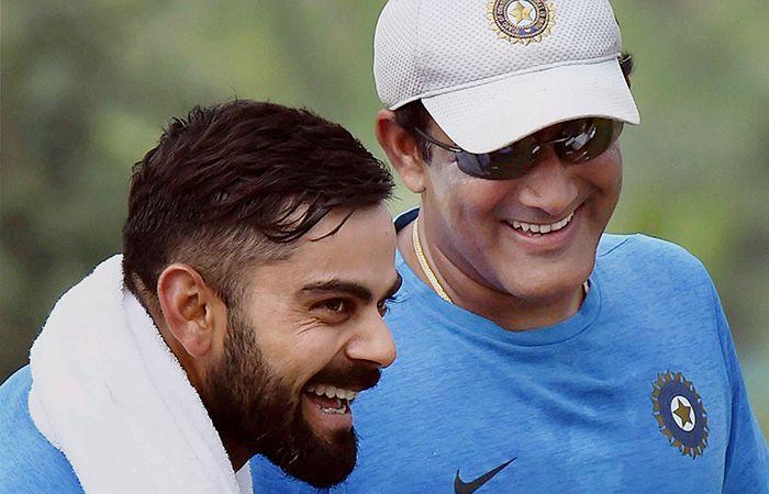 Kohli and Kumble