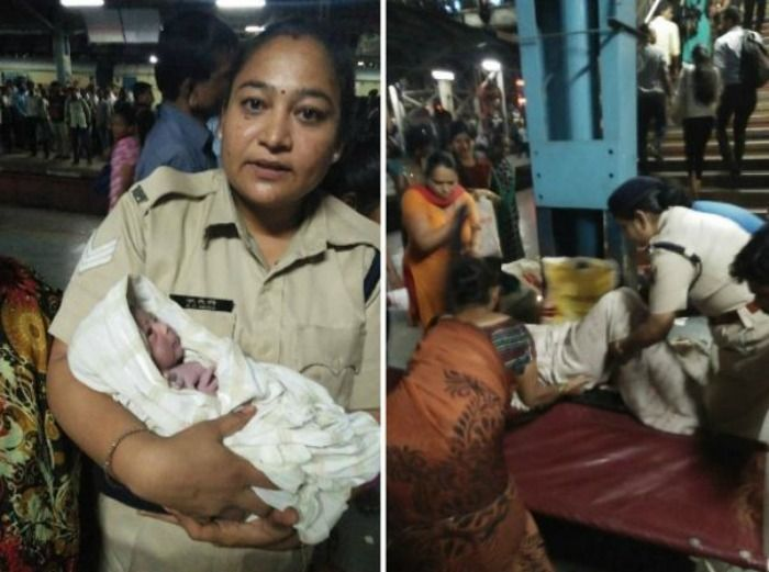 baby delivered on Thane station
