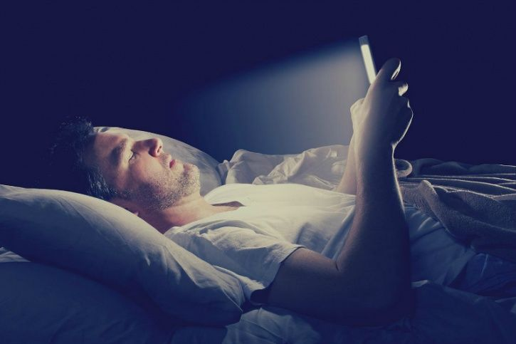 Switch off from staring into a screen well before bedtime