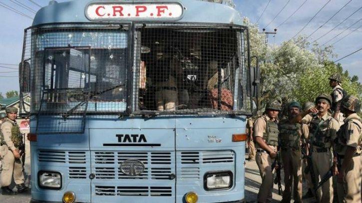 CRPF Bus attack
