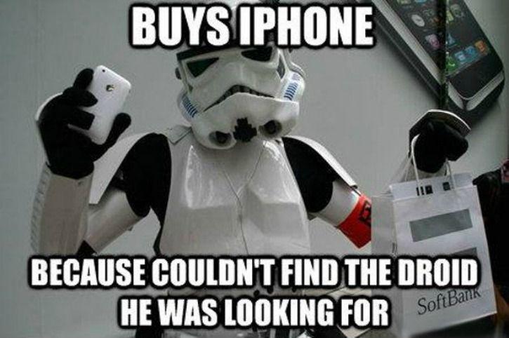 iPhone vs Droid