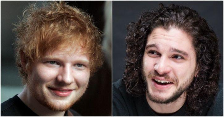 Ed sheeran and Jon Snow
