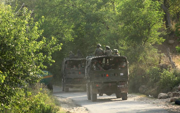Terror Attack On Army Convoy