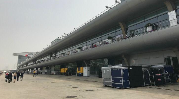F1 Race Paddock At Shanghai
