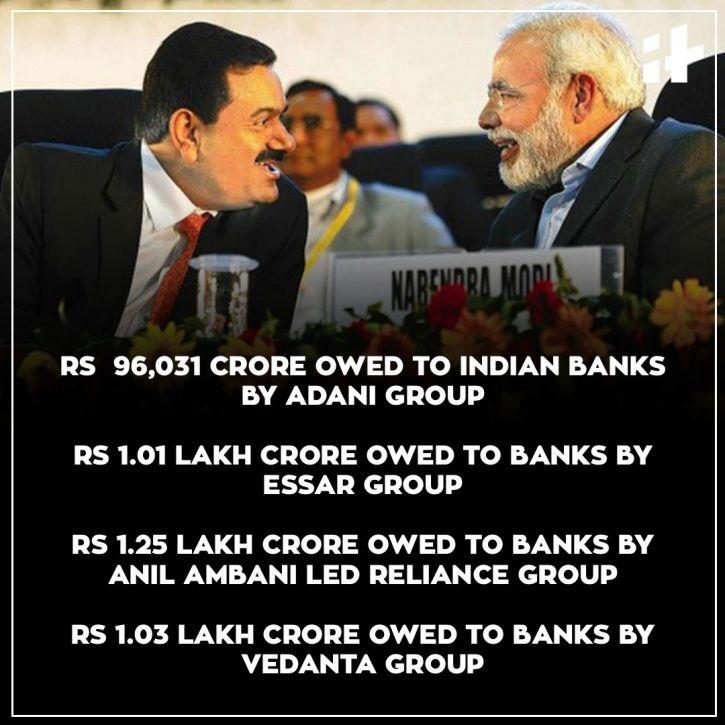 Adani Corporates Modi