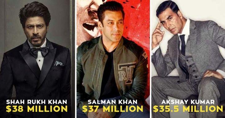SRK, Salman and Aamir