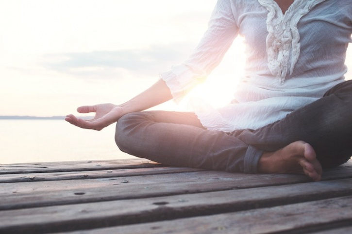 While people have been figuring this out for themselves for thousands of years through yoga, prayer and other forms of meditation, this is the first time researchers have used science to show the biological effects if these practices.  So the next time you see someone meditating or get into the act yourself, remember you're mindfully counteracting the genetic effect of stress!