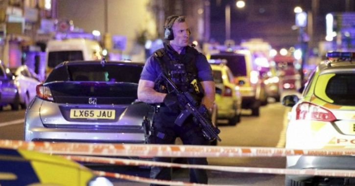 London mosque attack