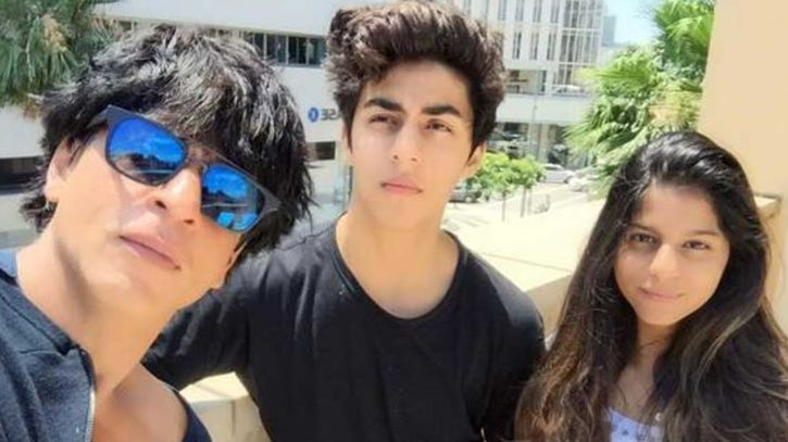 SRK with his kids