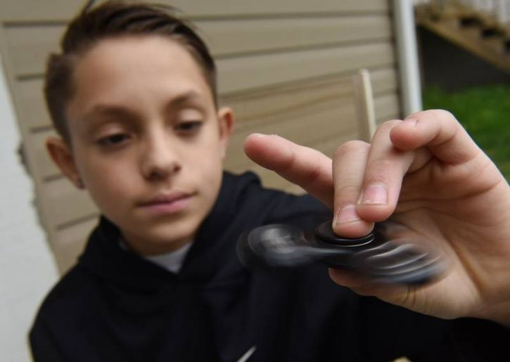 What are the purported benefits of using fidget spinners? Here are some of the more popular claims by manufacturers