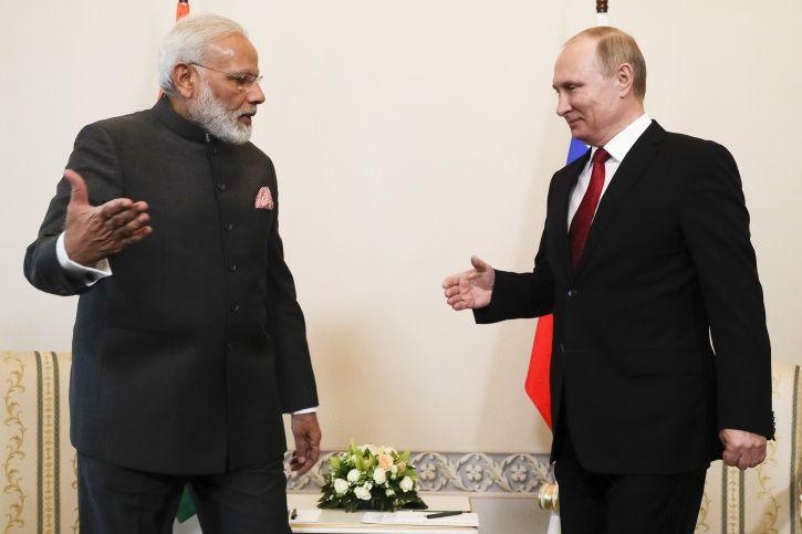 Narendra Modi - Putin Friendship