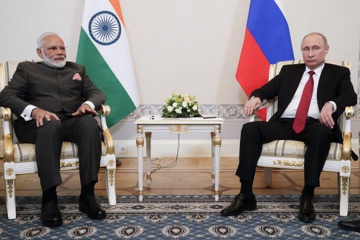 Narendra Modi Putin Friendship