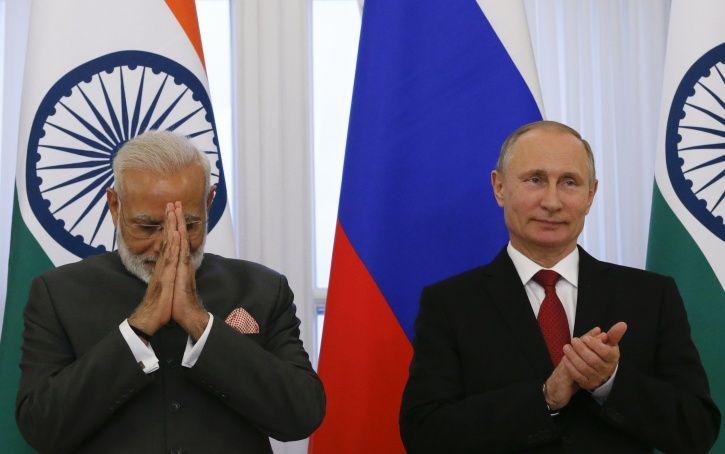 Modi Putin Frienship