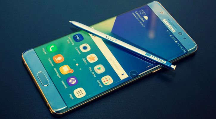 The ill-fated Samsung Galaxy Note 7