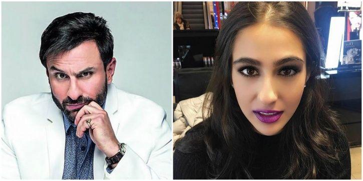 Saif and Sara Ali Khan