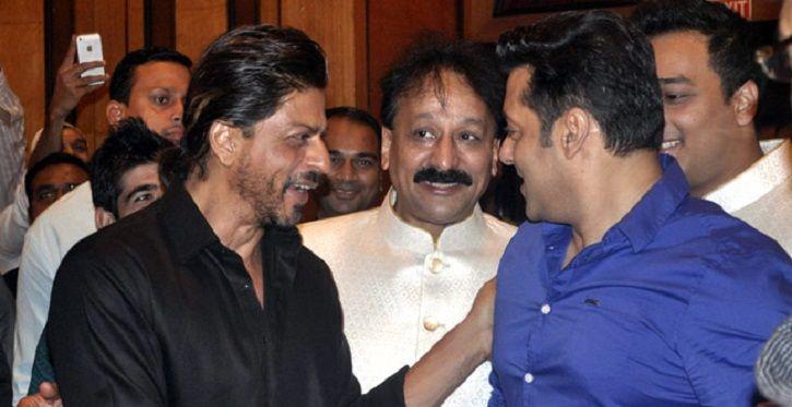 SRK, Salman, Baba Siddiqui's Iftar Party