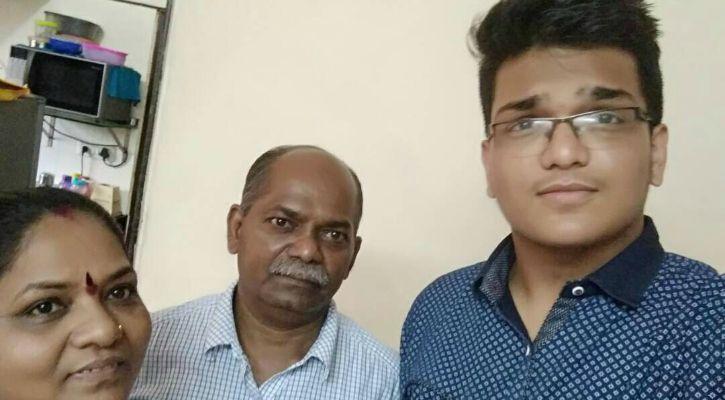 Balaji with parents