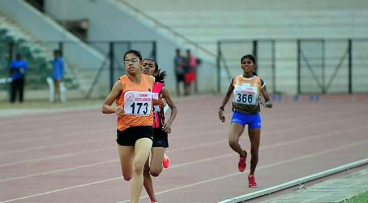 16 YO Shraddha Kanthariya comes from a remote rural village in Gujarat but will compete internationally in 800 meter running