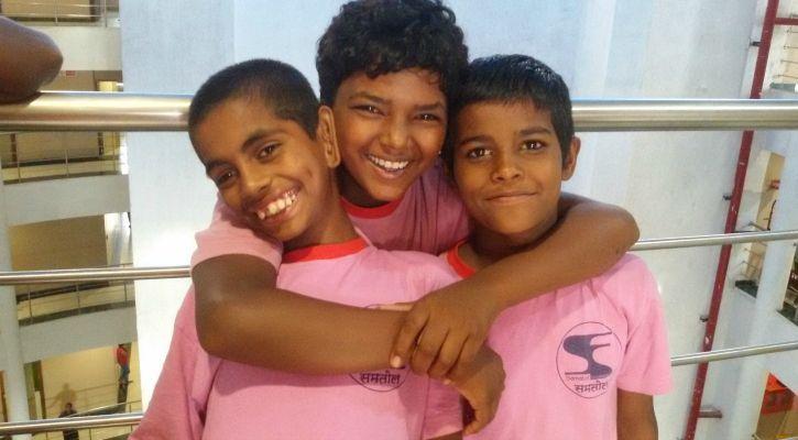 Children bonding at Hariharan
