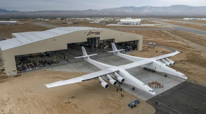 Images courtesy: Stratolaunch Systems