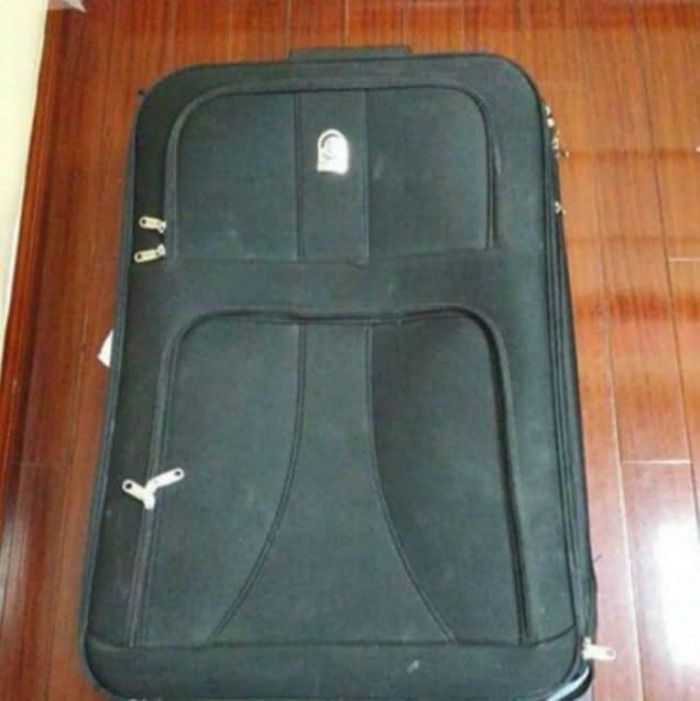 suitcase made of cocaine