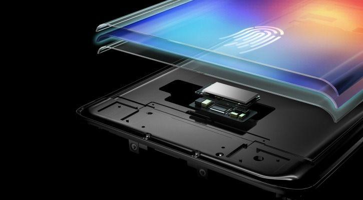 Vivo Under Display Fingerprint Sensor
