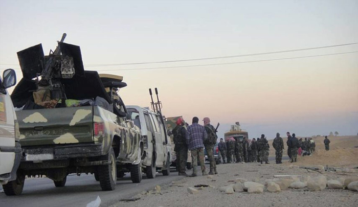 ISIS Clashes Between Army syria