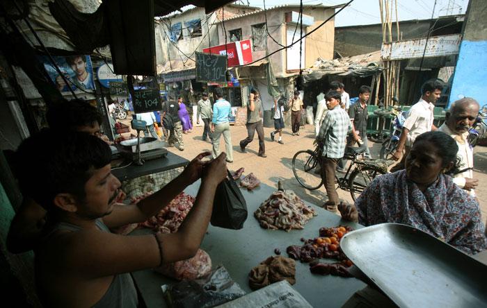 Meat sellers
