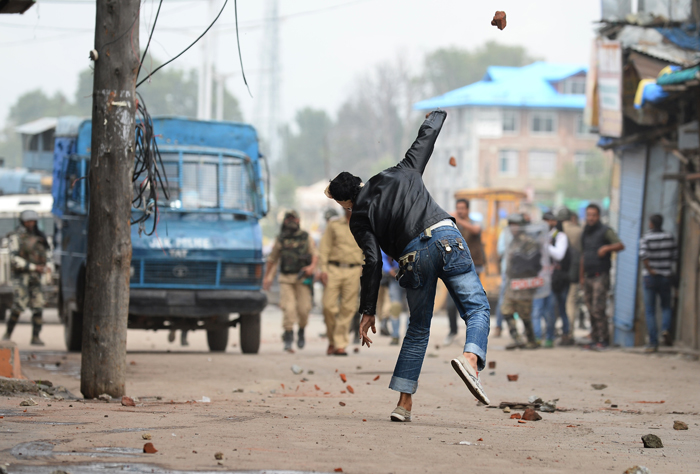 Spicy Jelly To Tackle Protests In Jammu and Kashmir