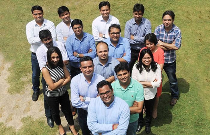 Vijay Shekhar Sharma With His Team