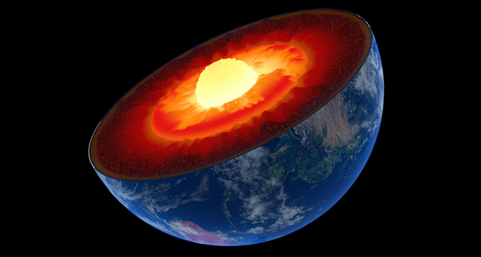 Earths Mantle 60 Degrees Hotter