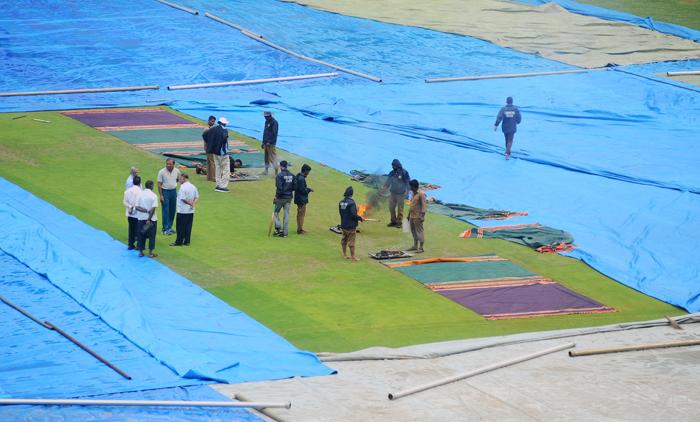Pitch For Bengaluru Test