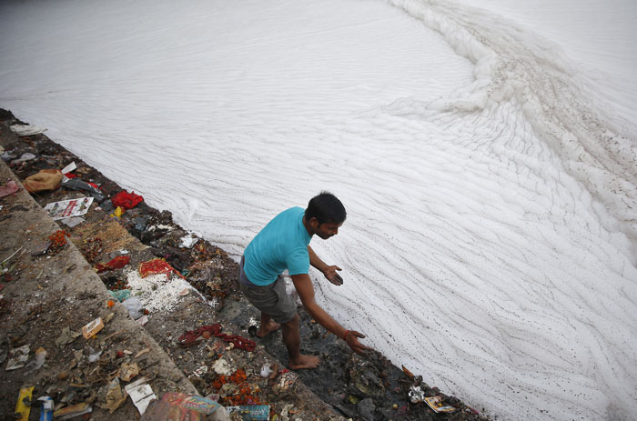 Yamuna River pollution
