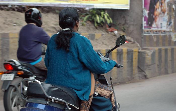 Helmetless Riders