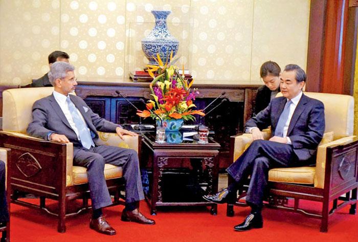 Foreign Secretary S Jaishankar with China