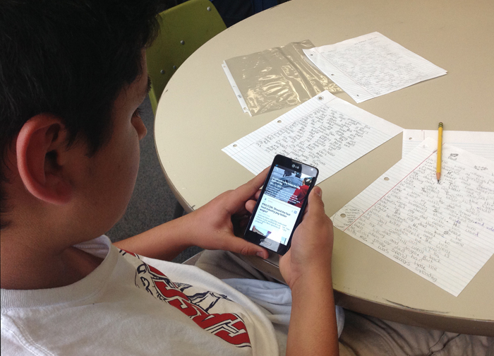 Study Apps with students