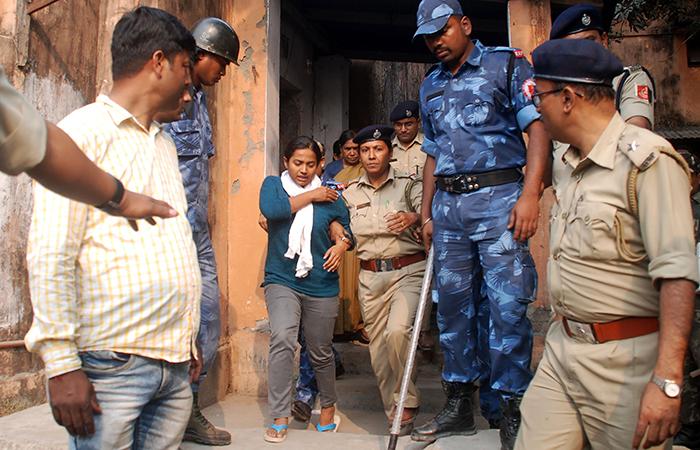 BJP Leader Juhi Arrested